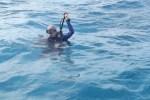 dan in water
