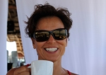 tammy with coffee