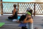 yoga class ending